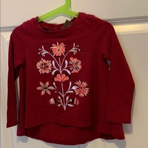 NWT Tea Collection High Low Top